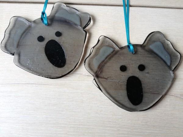 Pair of Koala Suncatchers
