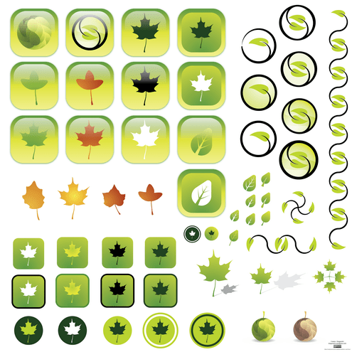 _vector-leaves-preview-by-dragonart