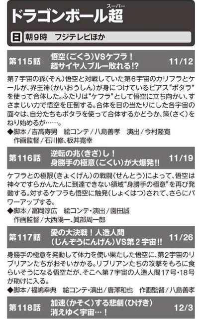 アニメディア12月