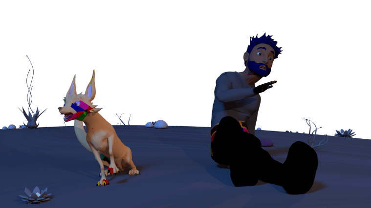 Somebody I Used to Know, feat. Space Dog