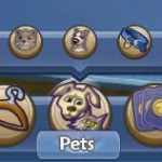 Marketplace Pets menu
