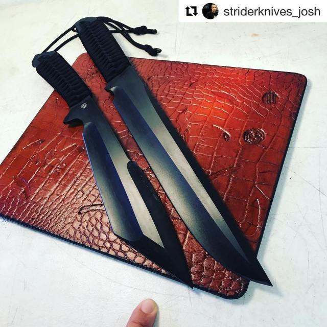 Repost striderknivesjosh dragoncut dragoncutdesign leather