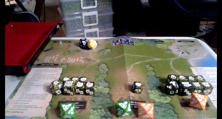 The laptop's view of your army, with good lighting, is really good for your opponent!