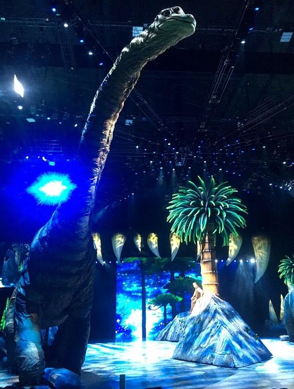 Dinosaurios Madrid con niños, dragones y unicornios