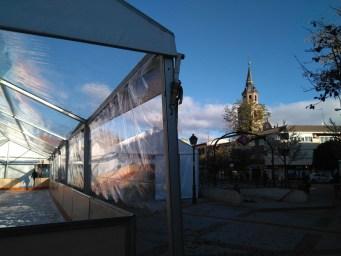 Pista de hielo de Villa Vallecas.