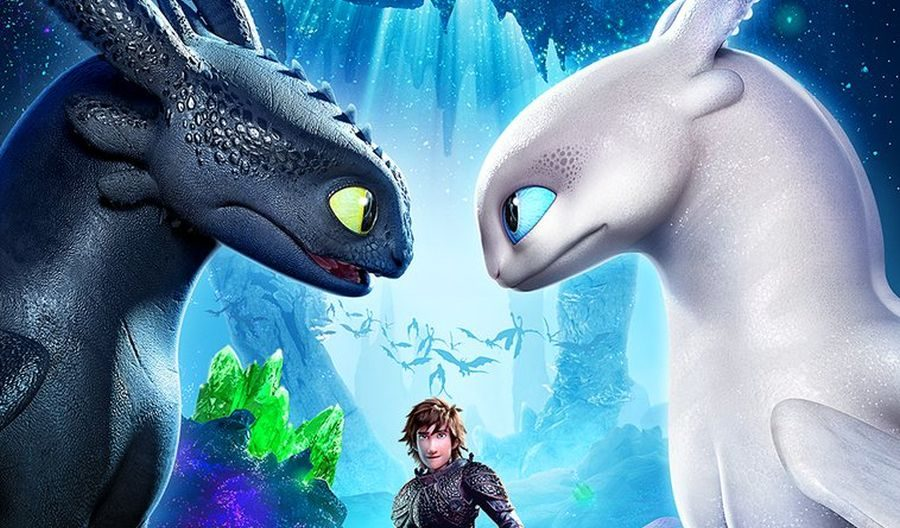 Imagen de la película Cómo entrenar a tu dragón 3.