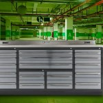 Heavy Duty Garage Workbench With Drawers Best Value Reliable Tool Cart And Worktable For Handy Tool Storage