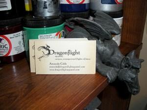 DA business cards