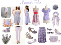 Lavender Fields Polyvore Set