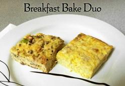 Breakfast Bake Duo
