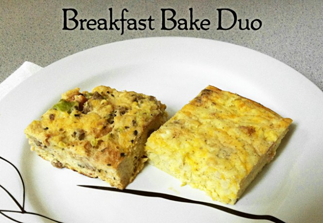 Breakfast Bake Duo