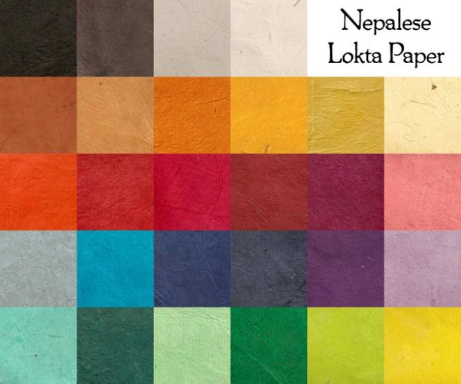 Nepalese Lokta Paper