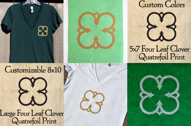 Clover Products for St. Patrick's Day