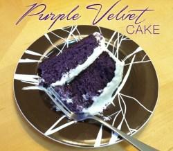 Purple Velvet Cake