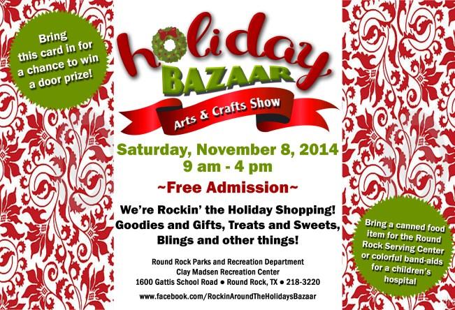 Holiday Bazaar Postcard 2014