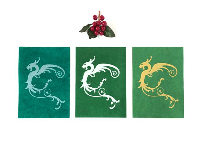 Green Dragon Trio