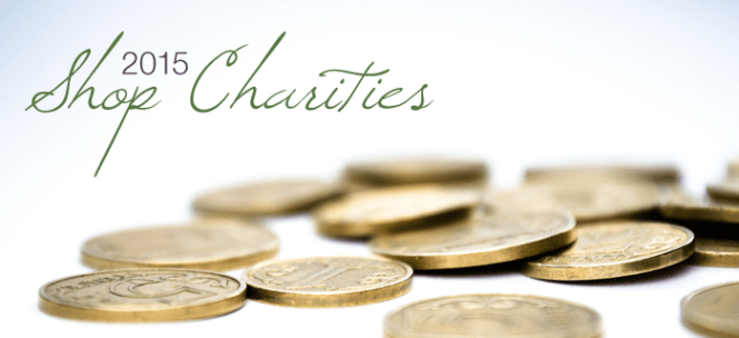 2015 shop charities