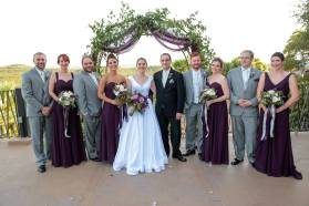 Our wonderful wedding party.