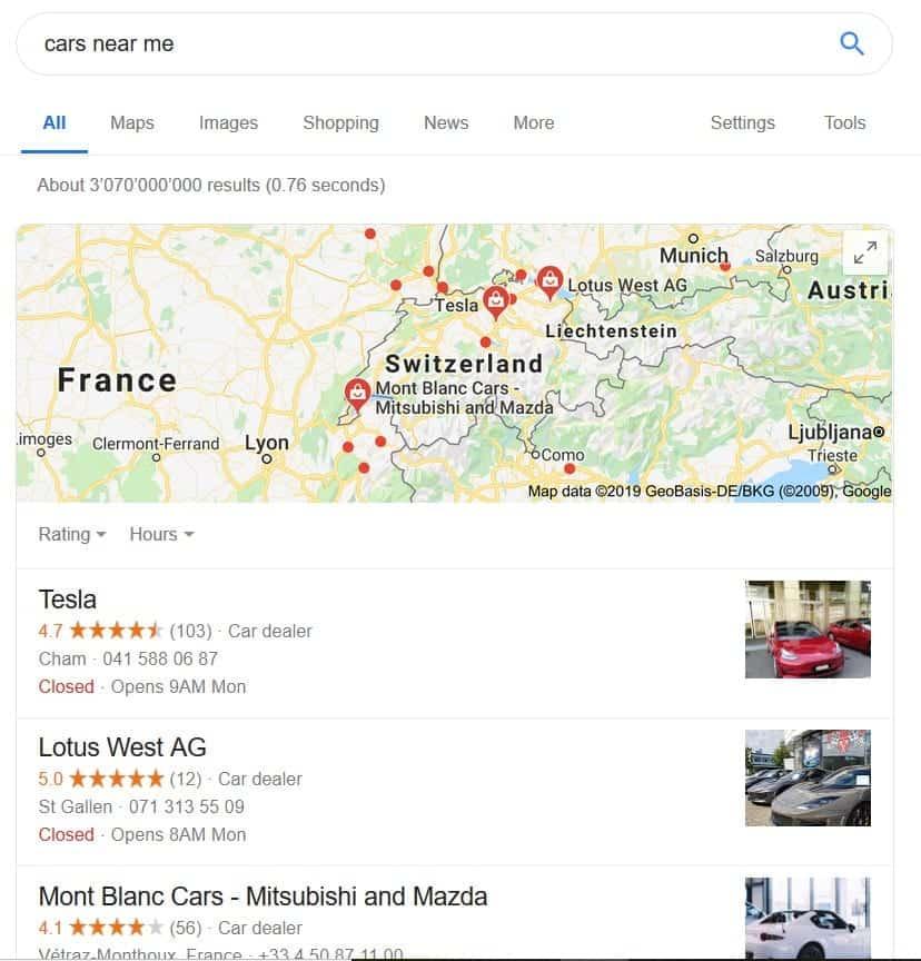 Local VPN Organic SEO Search-min
