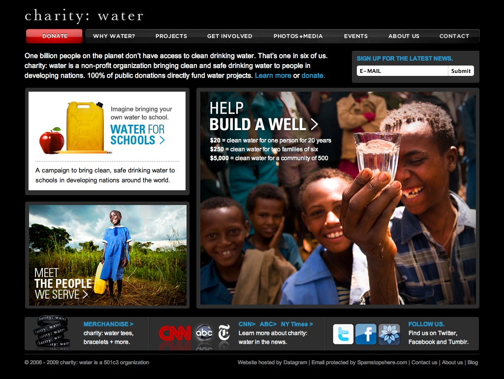 Charity:Water | The Dragonfly Effect