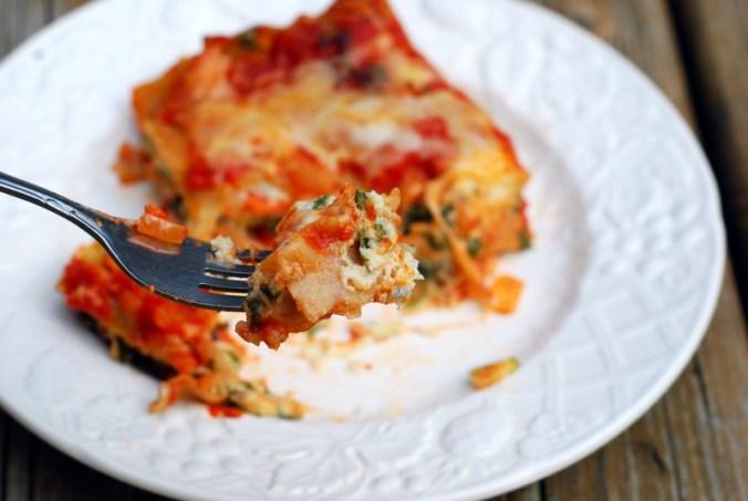 bite of lasagna 1