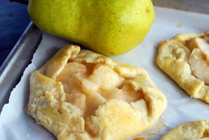 pear galette