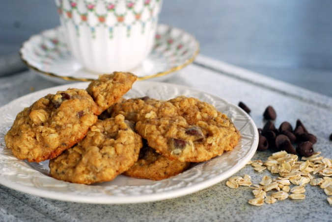 oatmeal cookies with chips 7