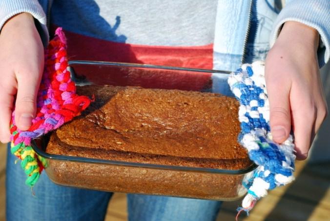 girl holding gingerbread