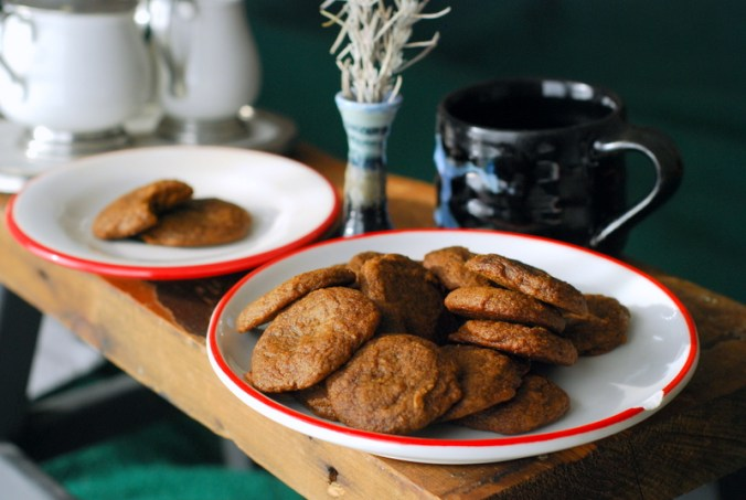maple molasses cookies with black mug 9