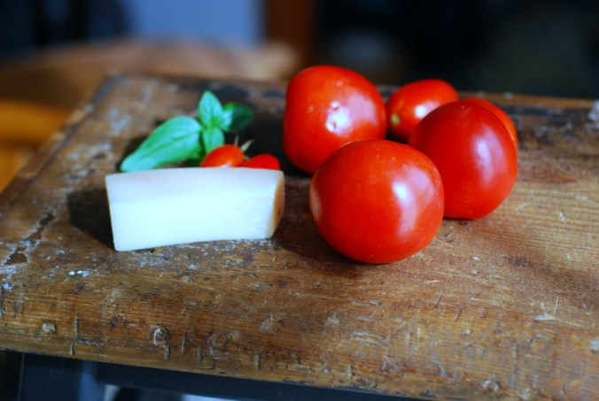 tomatoes and parmesan