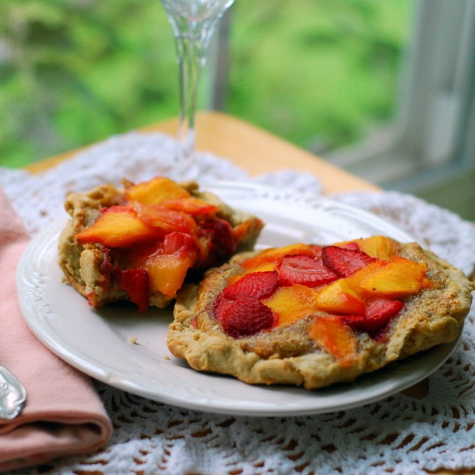 strawberry mango galette
