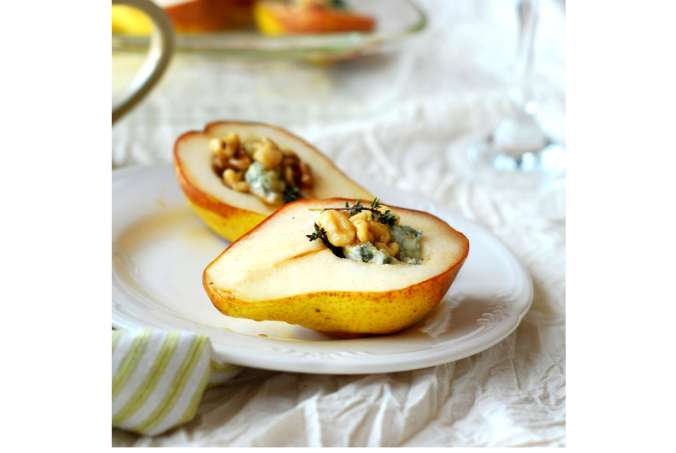 baked pears with blue cheese 1632