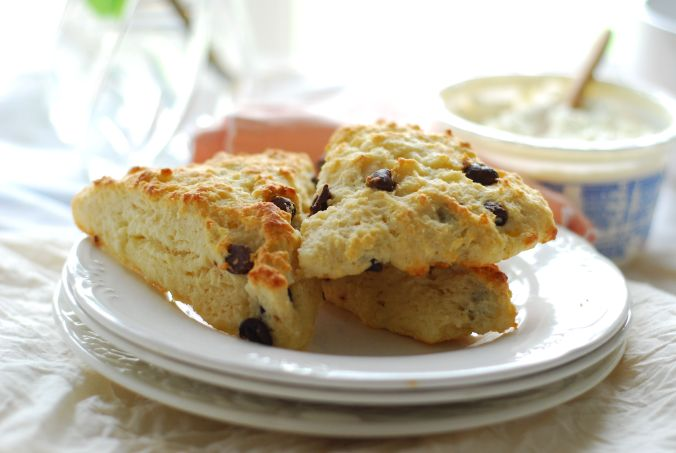 chocolate chip honey scones 1007
