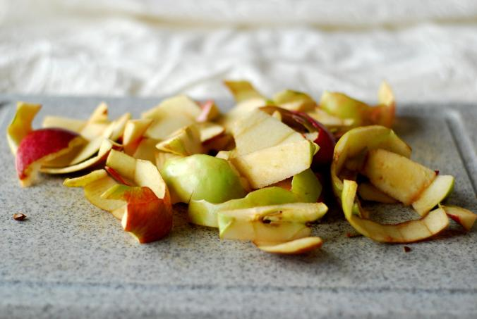 apple peels