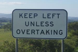 keep-left