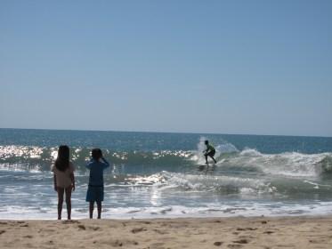 Surfing at Arugam Bay, on the eastern coast of Sri Lanka. Credit: Alex Frew McMillan