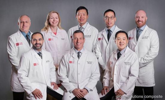 02_las vegas photographer group photo composite green screen physician medical practice
