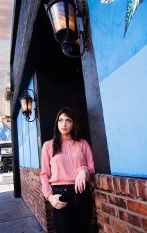 24_best high school senior photos, las vegas downtown arts district, girl senior photography