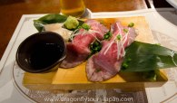 Omi-gyu sashimi beef