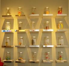Jars of toys