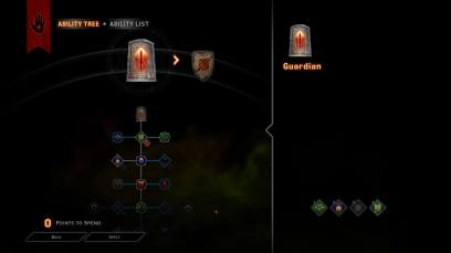 Dragon Age Inquisition Multiplayer skill trees for Legionnaire