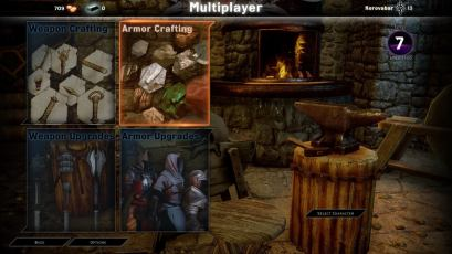 Dragon Age Inquisition Multiplayer crafting menu