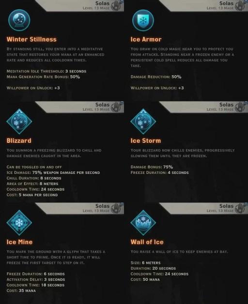 Winter Skills