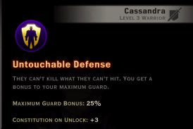Untouchable Defense