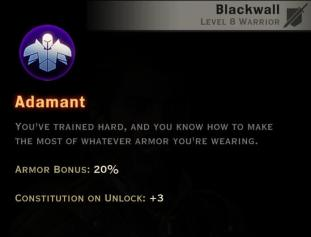 Dragon Age Inquisition - Adamant Champion warrior skill
