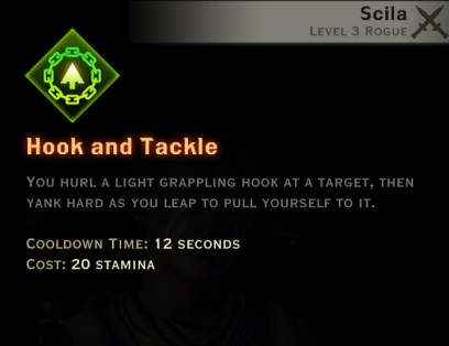 Dragon Age Inquisition - Hook and Tackle Sabotage rogue skill