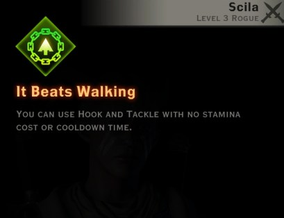 Dragon Age Inquisition - It Beats Walking Sabotage rogue skill