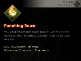Dragon Age Inquisition - Punching Down Rift mage skill