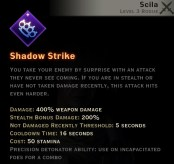Dragon Age Inquisition - Shadow Strike Subterfuge rogue skill