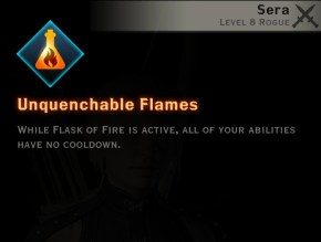 Dragon Age Inquisition - Unquenchable Flames Tempest rogue skill